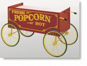 Standard Four-Wheel Red Antique Wagon Base supplier Dubai