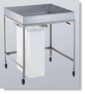 Cooling Cart with Removable Slide Out Bin supplier Dubai