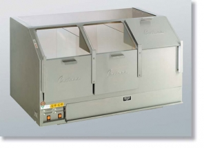 48 Counter Showcase Cornditioner Cabinet - Three Door supplier Dubai