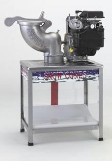 Echols Model 117 Gas Power High Speed Ice Shaver supplier Dubai