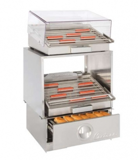 HD24 Lighted Stackable Hot Dog Grill Stand supplier Dubai