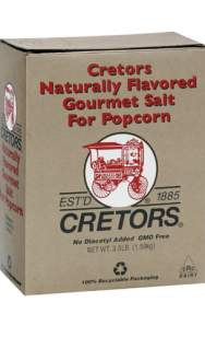 Cretors Original Butter Flavor Popcorn Salt Supplier in Dubai