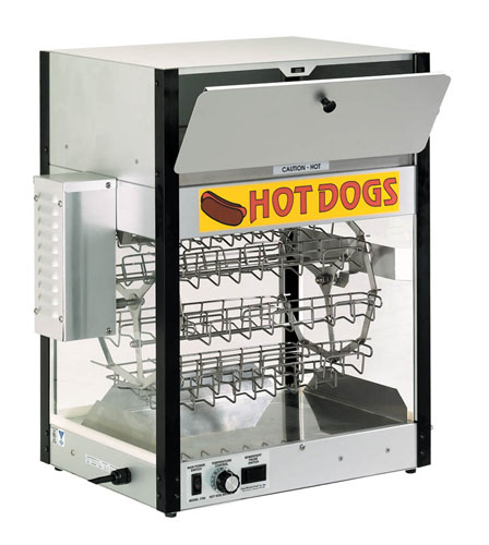 Combination Hot Dog Cooker and Bun Warmer in Dubai