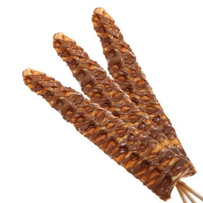 Long Waffle on a Stick in dubai