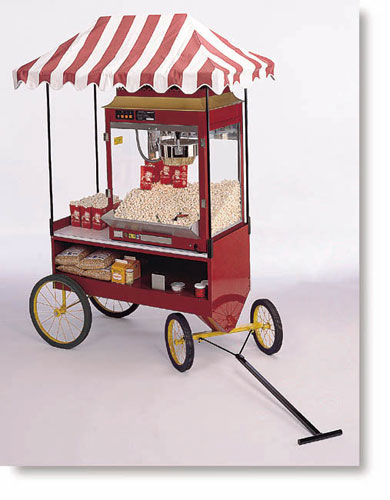 Four-Wheel Steerable Red Antique Wagon Base in dubai