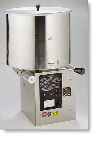 CMD50 Caramelizer - Cooker and Coater in dubai