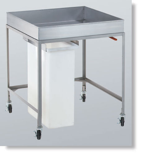 Cooling Cart with Removable Slide Out Bin in dubai