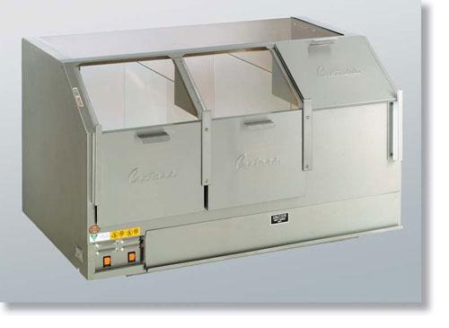 48 Counter Showcase Cornditioner Cabinet - Three Door in dubai